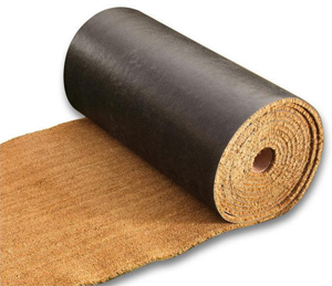 Vinyl Backed Coco Mat Rolls